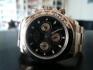 ROLEX DAYTONA OR ROSE